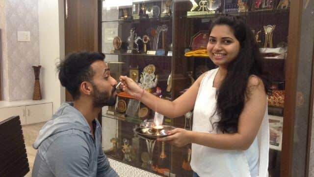 Here is how indian cricketers celebrated Raksha Bandhan
