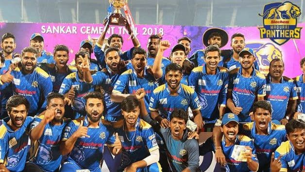 TNPL 2018: Siechem Madurai Panthers win title after defeating Dindigul Dragons by 7 wickets