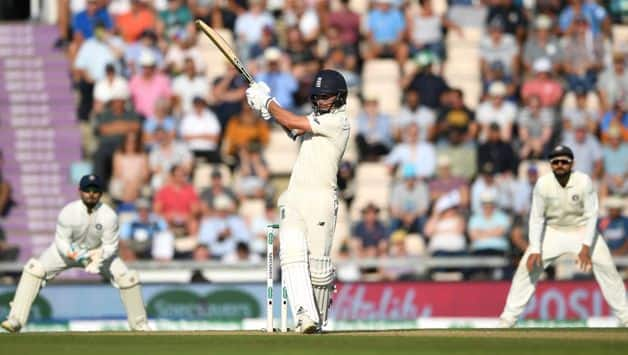 Sam Curran showed the benefits of his first-innings 78, looking assured and helped England's lead past the 200-run mark