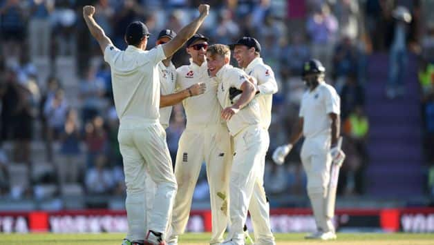 England beat India by 60 runs and took an unassailable 3-1 lead in this five-match series
