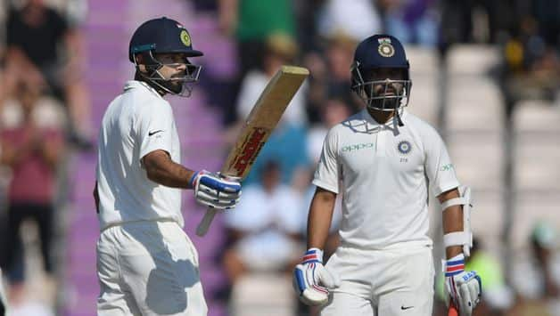 Virat Kohli and Ajinkya Rahane negotiated the tough passage of play until lunch