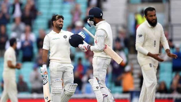 KL Rahul and Rishabh Pant ignited hopes of an improbable Indian win at Kia Oval.