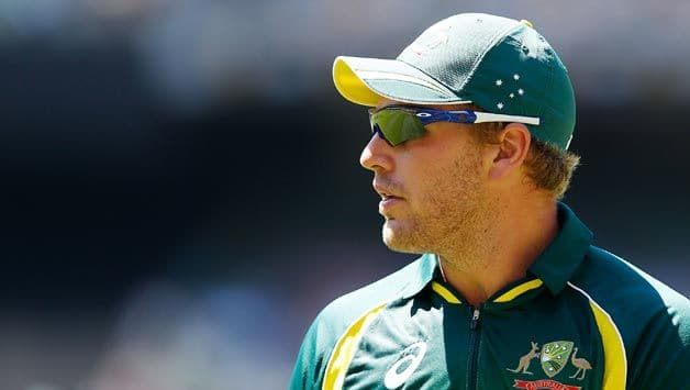 Aaron Finch may open the batting along with Matthew Renshaw for Australia. @ AFP
