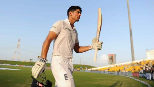 Twitter wishes pour in after Alastair Cook's final Test innings at The Oval