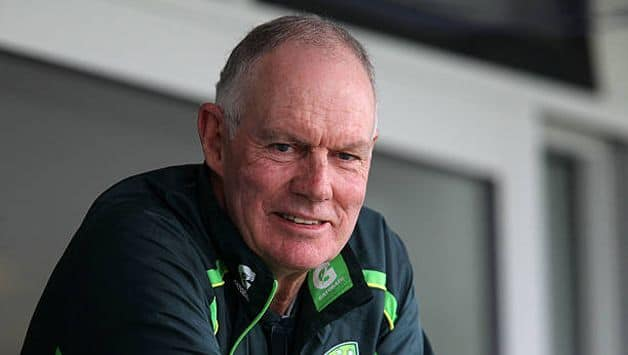 Greg Chappell: weight of the helmet has made facing swing the swinging ball difficult