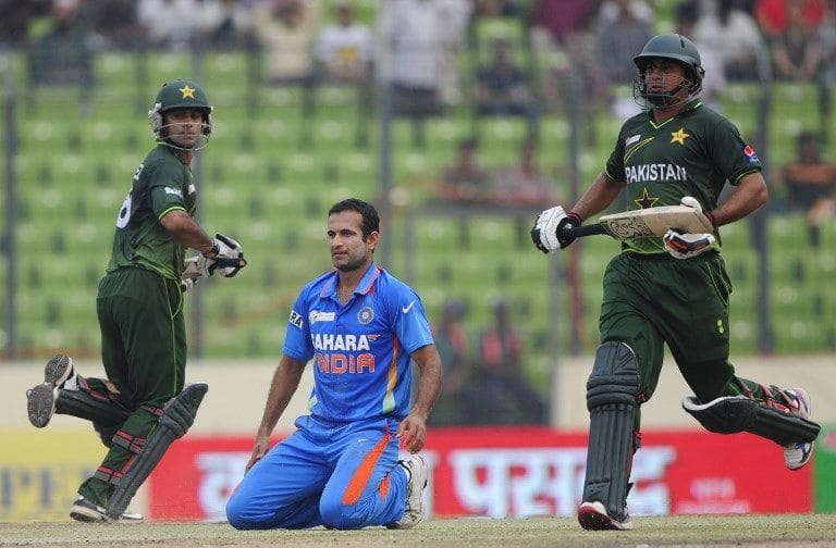 Mohammad Hafeez and Nasir Jamshed put on 224 for the first wicket versus India in 2012.