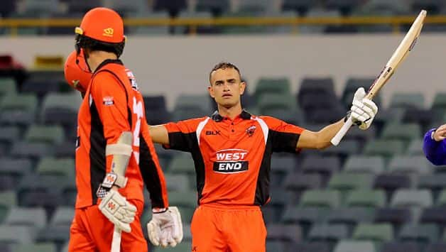 Opener Jake Weatherald remained unbeaten on 106 off 98 deliveries while Jake Lehmann made 87 off 97