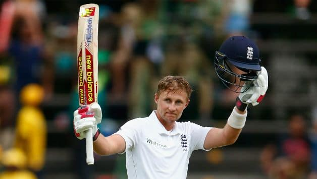 Joe Root brings up his first Test hundred in over a year
