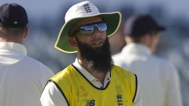 Moeen Ali was picked in the Test squad as a second spinner to Adil Rashid. @ AFP