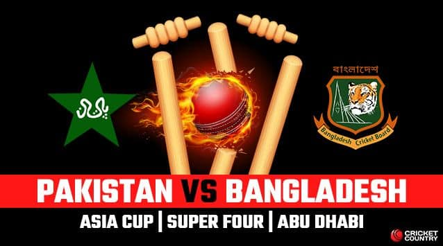 Asia Cup 2018, Pakistan vs Bangladesh, Super Four, LIVE streaming: Teams, time in IST and where to watch on TV and online in India