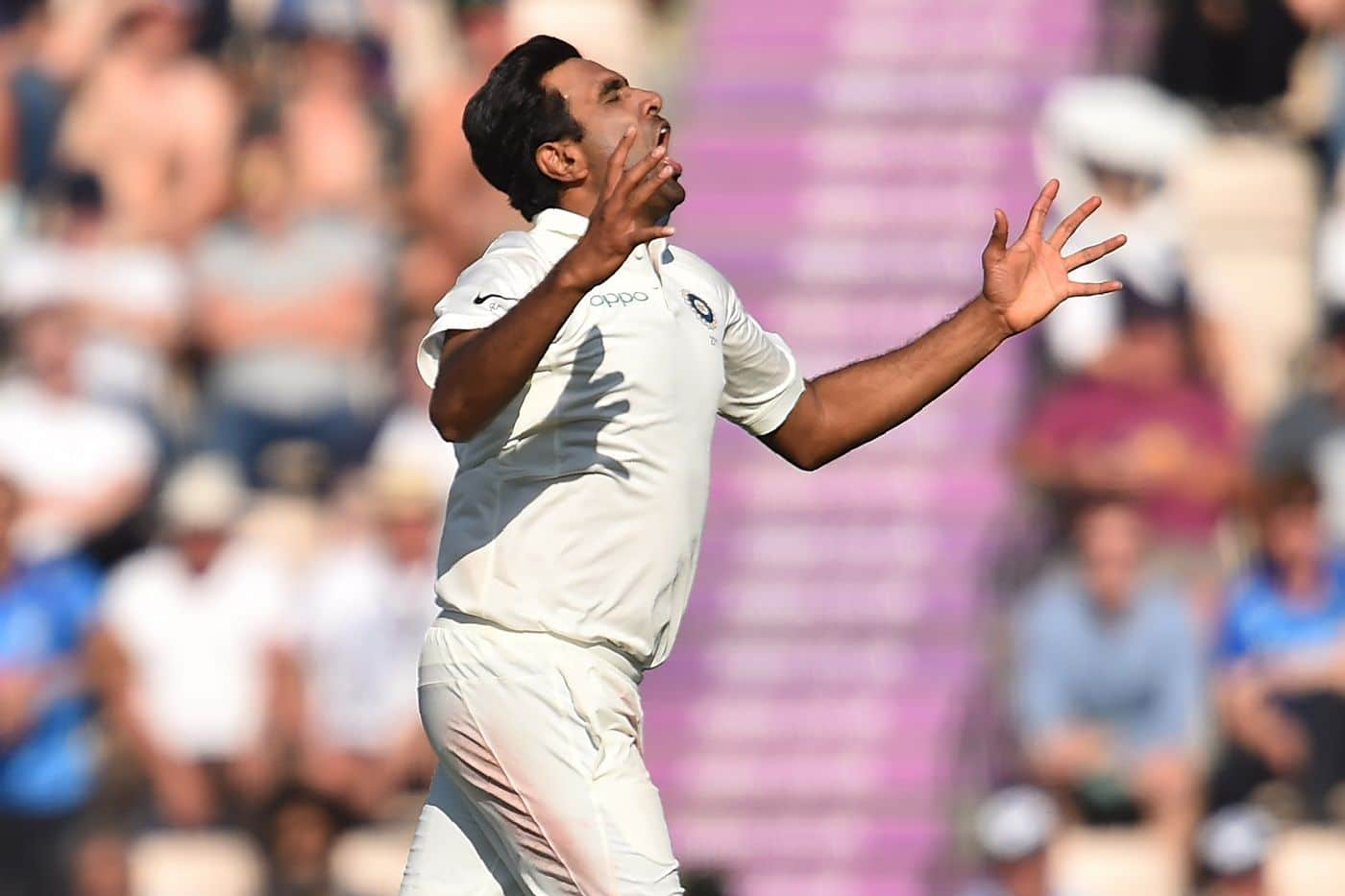 Was R Ashwin 100% fit at The Ageas Bowl?