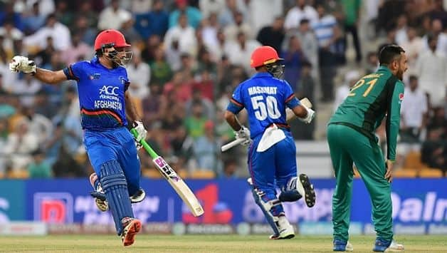 Fifties from skipper Asghar Afghan (67) and middle-order batsman Hashmatullah Shahidi (97*) helped Afghanistan post a healthy 257 for six
