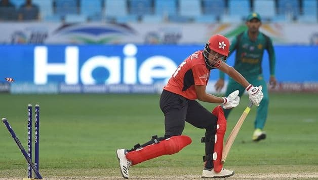 For Hong Kong, allrounder Aizaz Khan top-scored with 27 and was involved in a 53-run stand with Kinchit Shah (26) for the fifth wicket