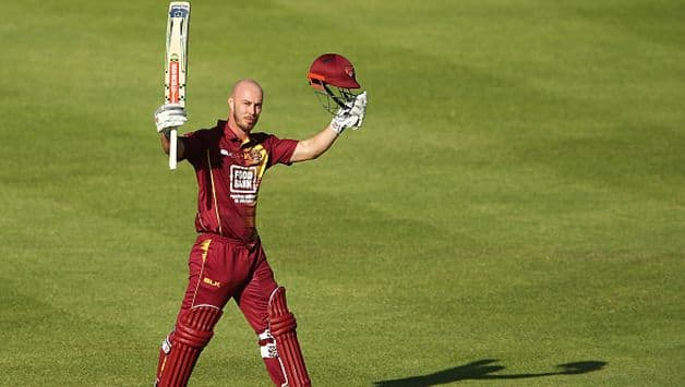 Chris Lynn is the leading run-getter in the JLT One-Day Cup