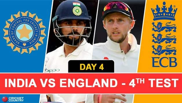 England beat India by 60 runs to win the fourth Test at Southampton on Sunday and take an unassailable 3-1 lead in the five-match series.