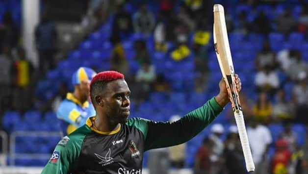 CPL 2018: Fabian Allen scores 64 as St Kitts and Nevis Patriots beat Barbados Tridents by 2 wickets