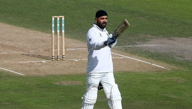Murali Vijay followed up his first innings 56 with century in the second innings of his County Championship debut for Essex