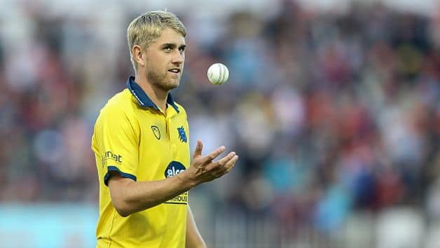 Warwickshire fast bowler Olly Stone was handed his maiden international call up to the England limited over squad