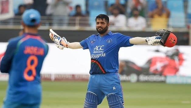 This is Mohammad Shahzad's fifth ODI hundred - his first in three years