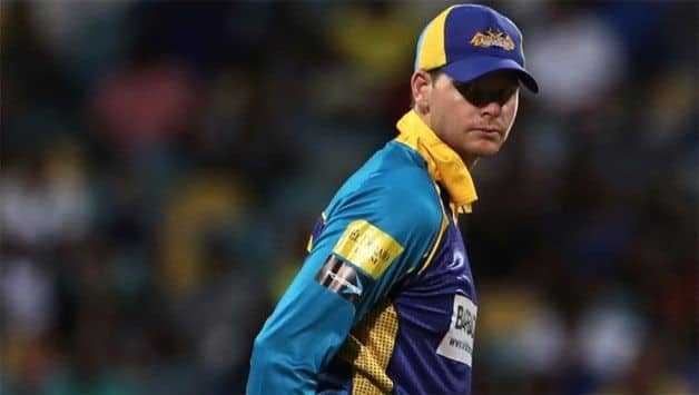 Side strain rules Steve Smith out of CPL 2018