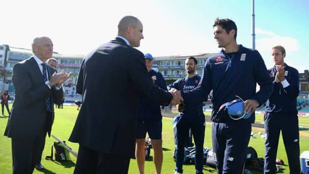 Former England captain and the opening partner to Alastair Cook, Andrew Strauss, termed the 33-year-old as England's greatest player ever.