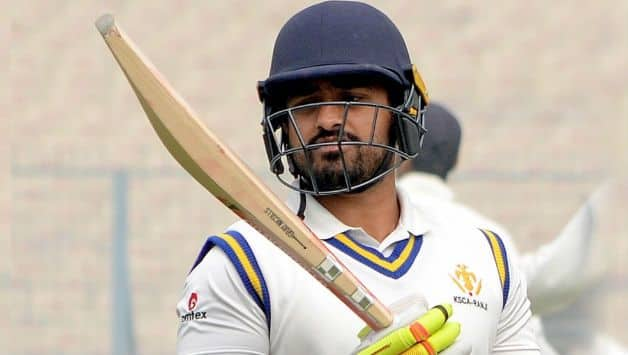 The way Karun Nair has been dropped is quite baffling says Dilip Vengsarkar