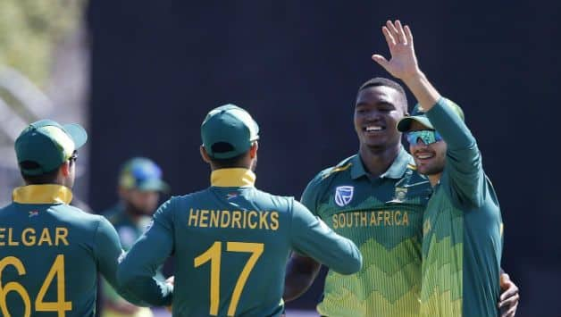 South African fast bowler Lungi Ngidi is excited for first tour of Australia