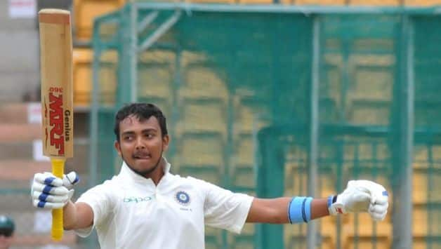 Prithvi Shaw is set to make his maiden entry into the Test arena when India face West Indies in the first of the two Tests at Rajkot on Thursday. @ IANS