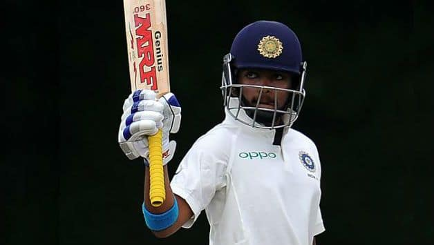 Prithvi Shaw becomes the youngest Indian to score a half-century in debut Test