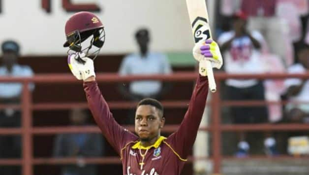 India vs West Indies 1st ODI : Shimron Hetmyer becomes 3rd youngest West Indies Player to score a century in ODIs in India