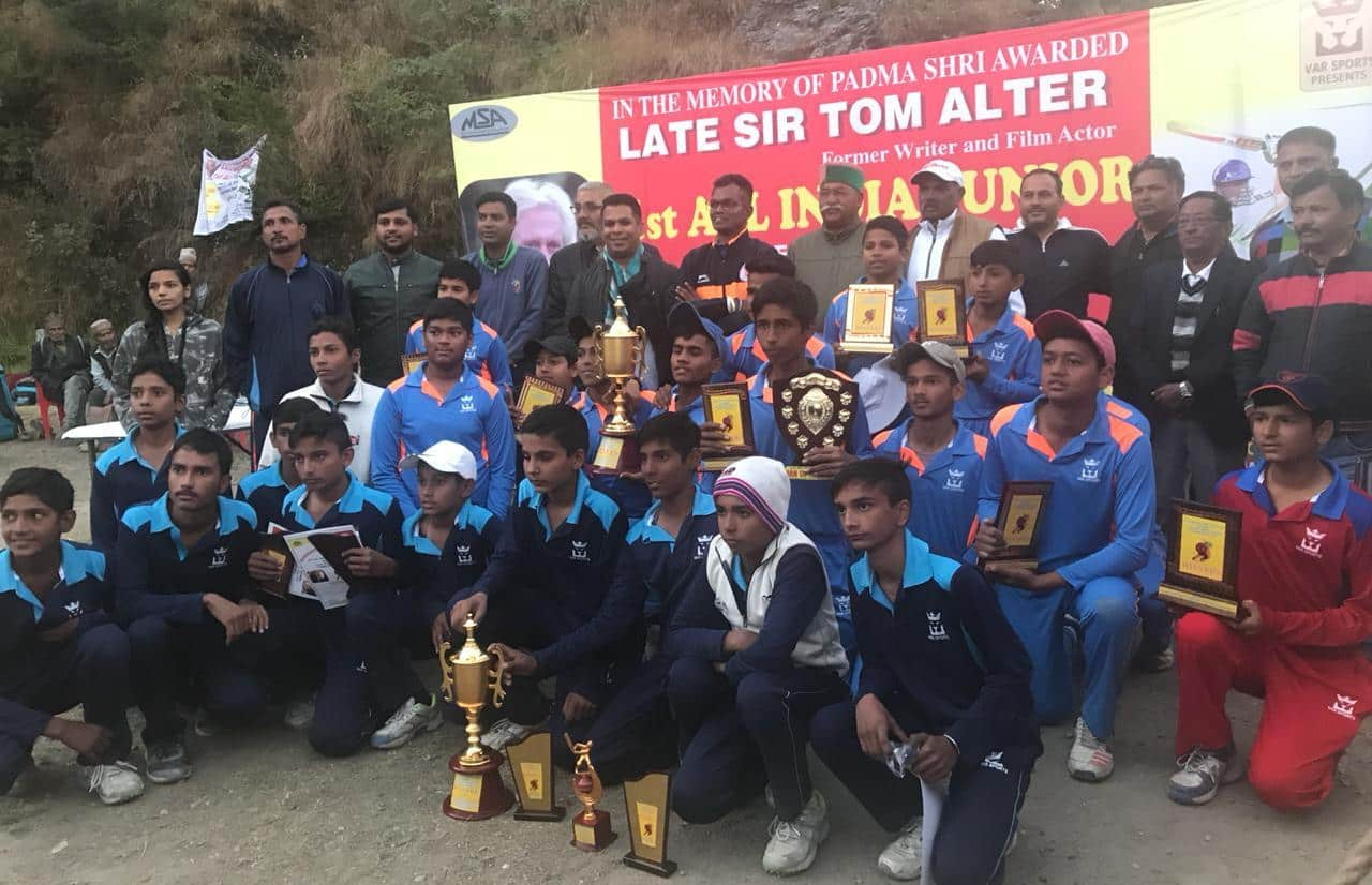 ASF Delhi wins inaugural Tom Alter Memorial All-India U-15 cricket tournament in Mussoorie