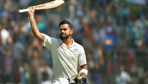 Virat Kohli has scored 502 runs in Tests against the West Indies. @ AFP