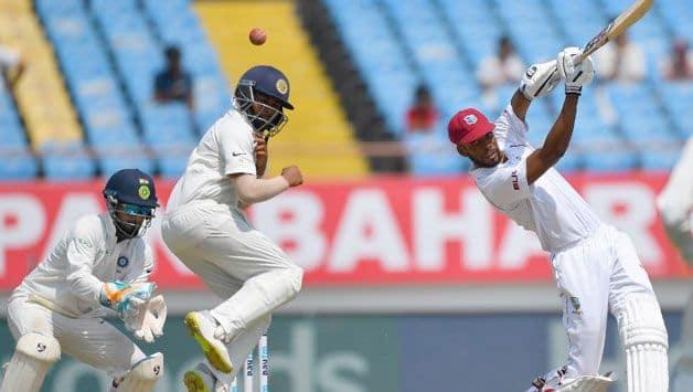 2nd Test: Roston Chase, Jason Holder inspire West Indies amid Umesh Yadav's strikes