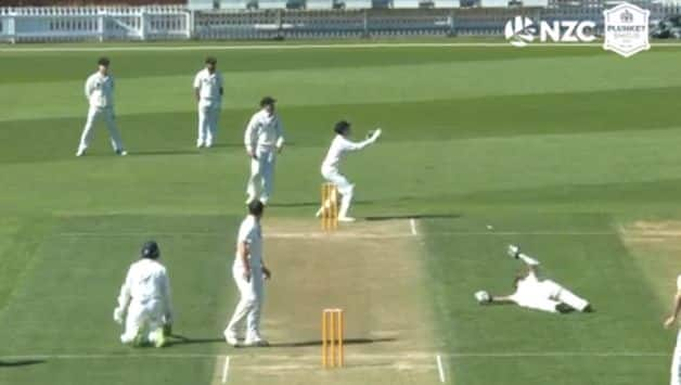 New Zealand funny run out