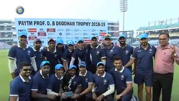 Rahane, Kishan centuries lead India C to Deodhar Trophy title