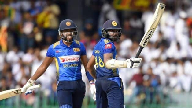 Opener Niroshan Dickwella made an enterprising 95 off 97 deliveries, combining for an opening stand of 137 runs with Sadeera Samarawickrama (54) in 19.1 overs. This was Sri Lanka's first 100 plus opening-wicket stand in 30 ODIs.