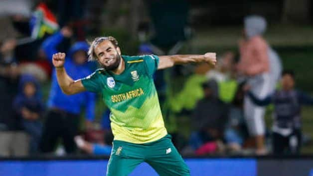 'Wish I could have got the hat-trick' says Imran Tahir