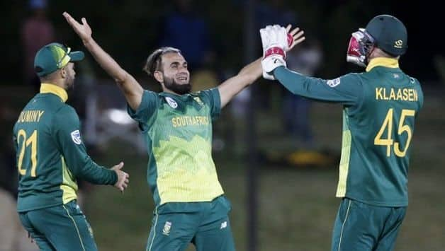 Cricket South Africa have decided to release spinner Imran Tahir from the squad for the final two T20Is against Zimbabwe, in lieu of giving opportunities to other players.