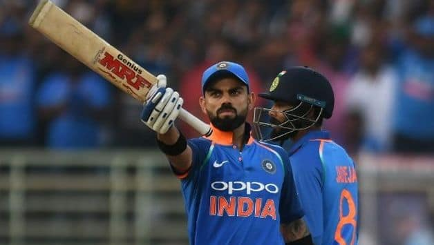 Virat Kohli has added another milestone to his record-setting ODI career, becoming the fastest batsman in the game's history to reach 10,000 runs.