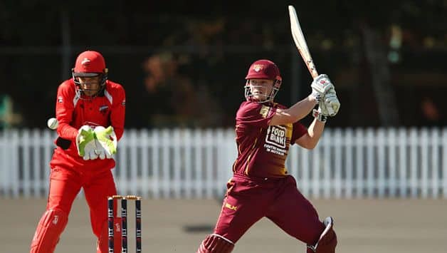 Queensland's 19-year-old opener Max Bryant is just 12 List A matches old but already has the record for the fastest ever 50 by a Queenslander