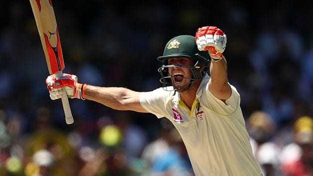 Vice-captain Mitchell Marsh leads by example ahead of Pakistan Tests