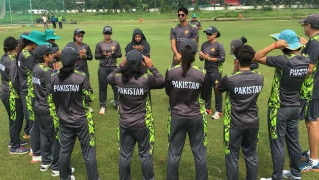 First women's T20I between Bangladesh and Pakistan abandoned due to rain