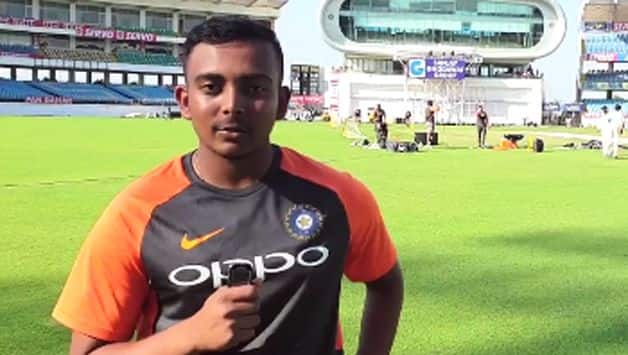 Prithvi Shaw, who is set to earn his maiden Test cap against in the first Test against West Indies on Thursday, had good first out in the Indian team with skipper Virat Kohli breaking the ice with the teenager cracking some jokes.