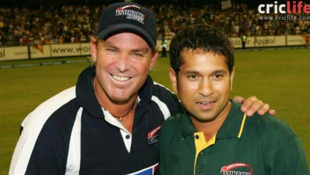 If I want someone to bat for my life day in, day out, I would send Sachin Tendulkar: Shane Warne