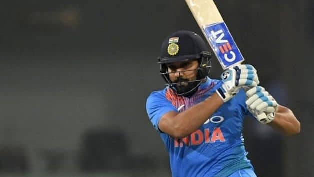 Rohit plays out a maiden