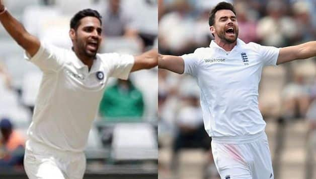 James Anderson, Bhuvneshwar Kumar are the best swing bowlers in the world, says Damien Fleming