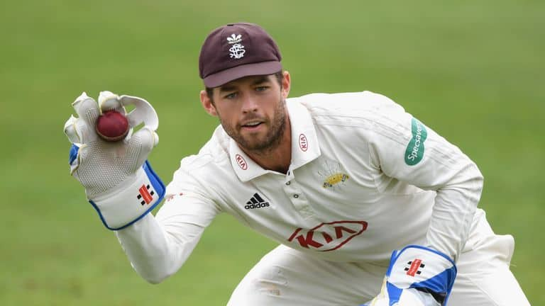 Surrey wicketkeeper Ben Foakes appears in line for his Test debut