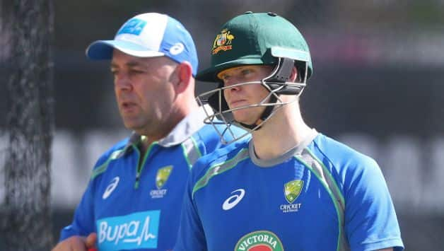 Darren Lehmann: There was no meeting before ball tampering incident in Cape Town Test
