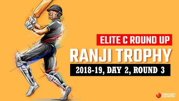 Ranji Trophy 2018-19, Elite C, Round 3, Day 2: Services cut off Suresh Raina but UP eke out lead