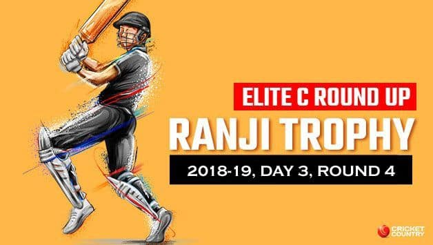 Ranji Trophy 2018-19, Elite C, Round 4, Day 3: Assam beat Haryana by an innings